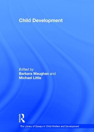 Child Development: 1st Edition (Hardback) book cover