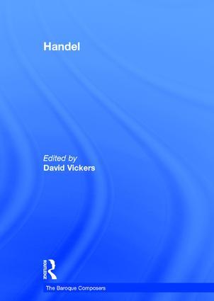 Handel: 1st Edition (Hardback) book cover