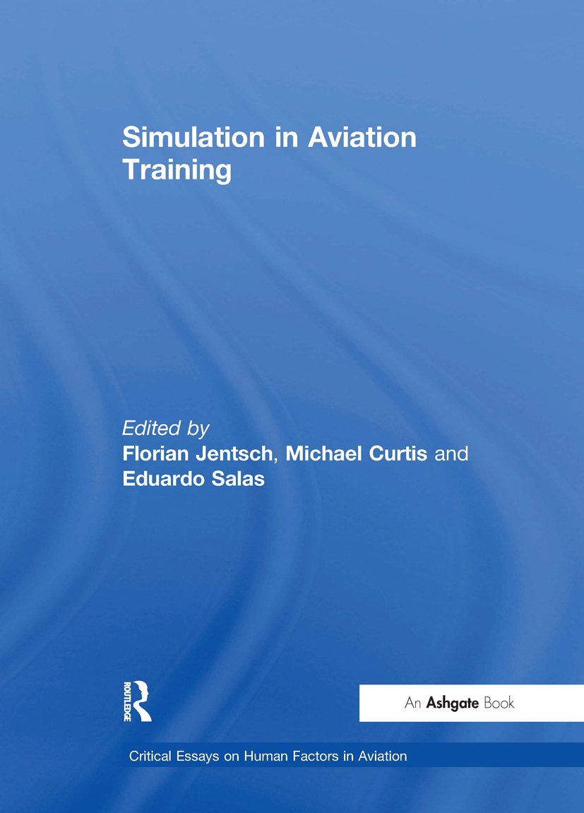 Simulation in Aviation Training book cover