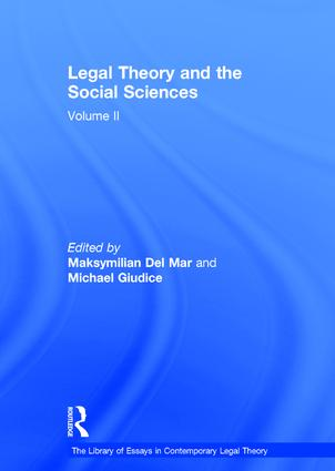 Legal Theory and the Social Sciences: Volume II book cover