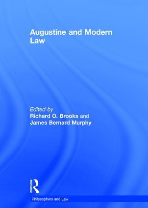 Augustine and Modern Law book cover