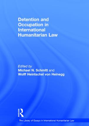 Detention and Occupation in International Humanitarian Law book cover