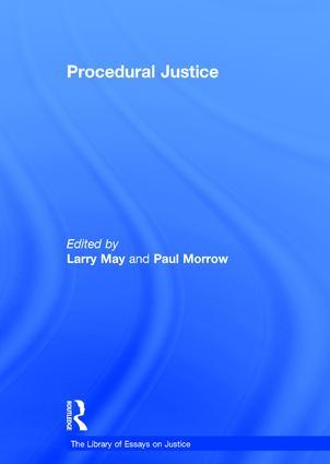 Procedural Justice: 1st Edition (Hardback) book cover