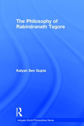 The Philosophy of Rabindranath Tagore book cover
