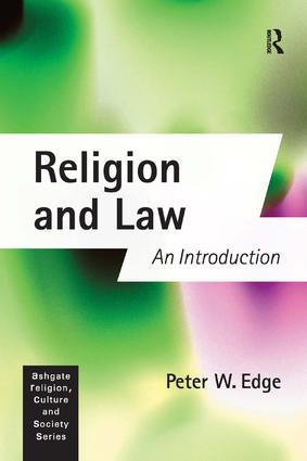 Religion and Law: An Introduction, 1st Edition (Paperback) book cover