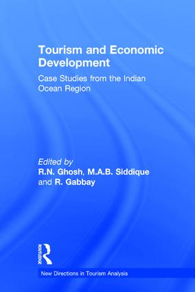 Tourism and Economic Development: Case Studies from the Indian Ocean Region, 1st Edition (Hardback) book cover