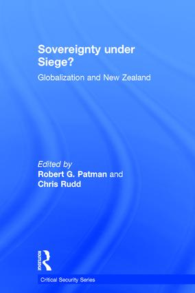 Sovereignty under Siege?: Globalization and New Zealand, 1st Edition (Hardback) book cover