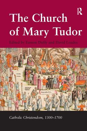The Church of Mary Tudor book cover