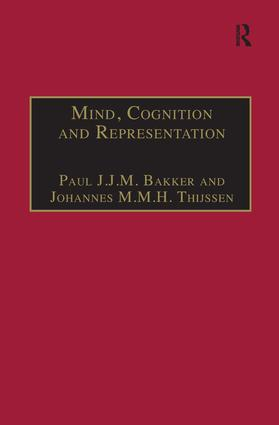 Mind, Cognition and Representation: The Tradition of Commentaries on Aristotle's De anima book cover