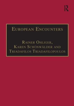 European Encounters: Migrants, Migration and European Societies Since 1945, 1st Edition (Hardback) book cover