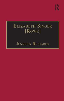 Elizabeth Singer [Rowe]: Printed Writings 1641–1700: Series II, Part Two, Volume 7 book cover