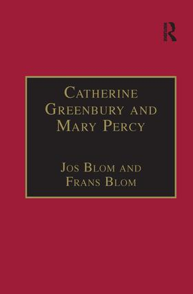 Catherine Greenbury and Mary Percy: Printed Writings 1500–1640: Series 1, Part Four, Volume 2 book cover