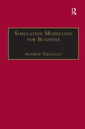 Simulation Modelling for Business: 1st Edition (Hardback) book cover