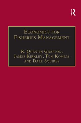 Economics for Fisheries Management: 1st Edition (Paperback) book cover