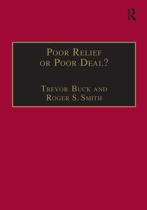 Poor Relief or Poor Deal?: The Social Fund, Safety Nets and Social Security, 1st Edition (e-Book) book cover