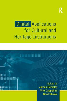 Digital Applications for Cultural and Heritage Institutions book cover