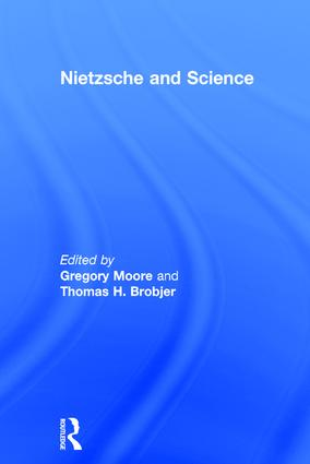 Nietzsche and Science (Hardback) book cover