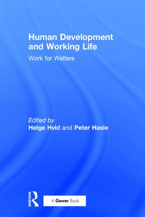 Human Development and Working Life: Work for Welfare, 1st Edition (Paperback) book cover