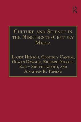Culture and Science in the Nineteenth-Century Media (Hardback) book cover