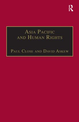 Asia Pacific and Human Rights: A Global Political Economy Perspective, 1st Edition (Hardback) book cover