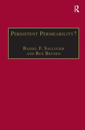 Persistent Permeability?: Regionalism, Localism, and Globalization in the Middle East, 1st Edition (Hardback) book cover