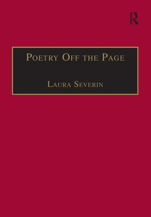 Poetry Off the Page: Twentieth-Century British Women Poets in Performance, 1st Edition (Hardback) book cover