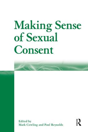 Making Sense of Sexual Consent: 1st Edition (Hardback) book cover