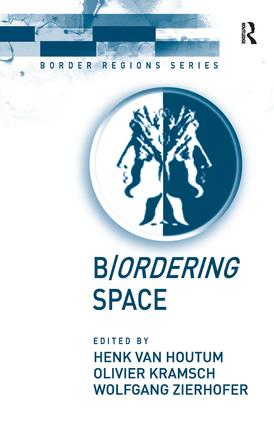 B/ordering Space: 1st Edition (Paperback) book cover