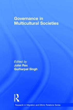 Governance in Multicultural Societies: 1st Edition (Hardback) book cover