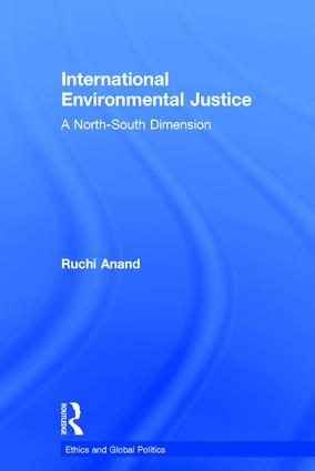 International Environmental Justice: A North-South Dimension book cover