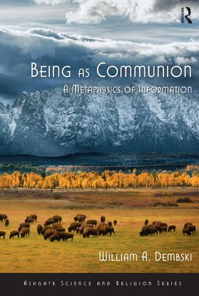 Being as Communion: A Metaphysics of Information book cover