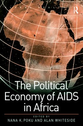 The Political Economy of AIDS in Africa book cover