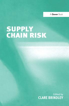 Supply Chain Risk: 1st Edition (Hardback) book cover