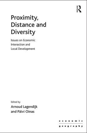 Proximity, Distance and Diversity: Issues on Economic Interaction and Local Development, 1st Edition (Hardback) book cover
