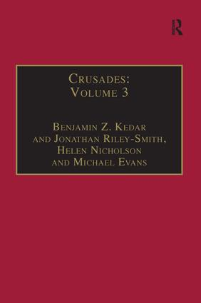 Crusades: Volume 3 book cover