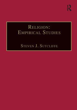 Religion: Empirical Studies book cover