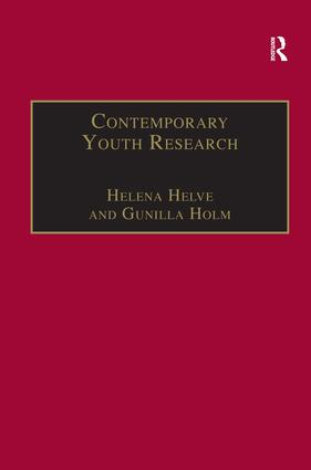 Contemporary Youth Research: Local Expressions and Global Connections, 1st Edition (Hardback) book cover