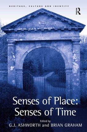 Senses of Place: Senses of Time: 1st Edition (Hardback) book cover