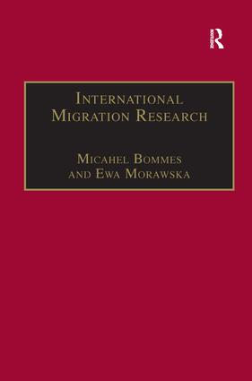 International Migration Research: Constructions, Omissions and the Promises of Interdisciplinarity book cover
