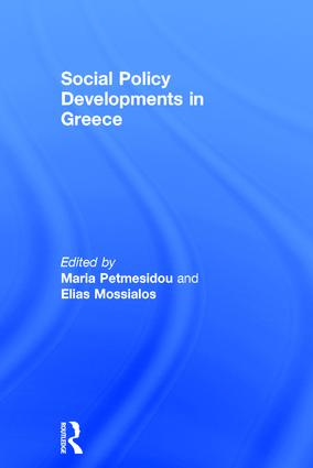 Social Policy Developments in Greece: 1st Edition (Hardback) book cover