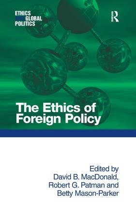 The Ethics of Foreign Policy: 1st Edition (Hardback) book cover