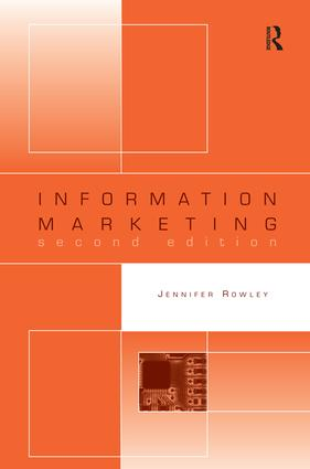 Information Marketing book cover