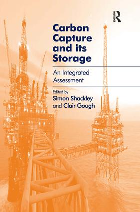 Carbon Capture and its Storage: An Integrated Assessment (Hardback) book cover