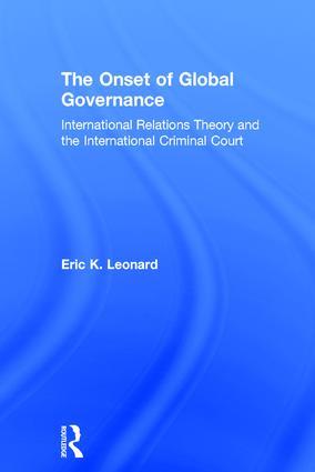 The Onset of Global Governance
