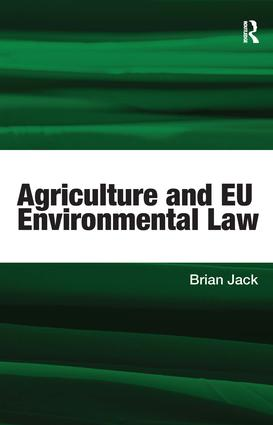 Establishing the Common Agricultural Policy