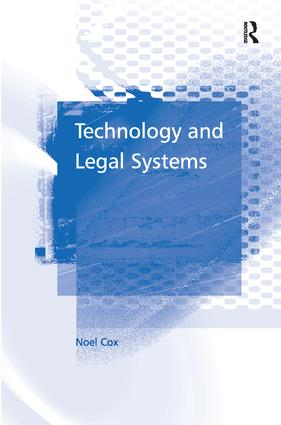Technology and Legal Systems: 1st Edition (Hardback) book cover