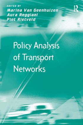 Policy Analysis of Transport Networks: 1st Edition (Paperback) book cover