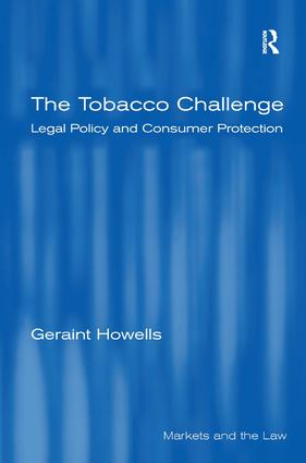 The Tobacco Challenge: Legal Policy and Consumer Protection book cover