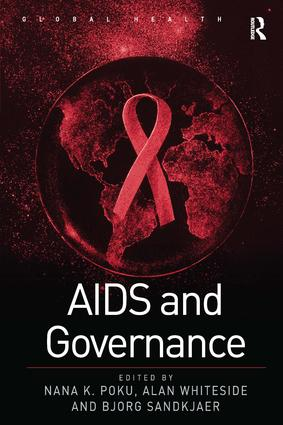 AIDS and Governance: 1st Edition (Hardback) book cover