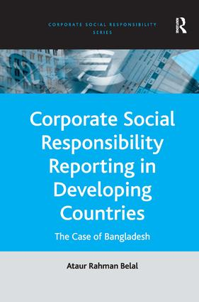Corporate Social Responsibility Reporting in Developing Countries